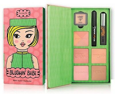 🎀Benefit Blushin' Babe Blush Kit Hoola Sugarbomb They're Real Mascara NEW🎀
