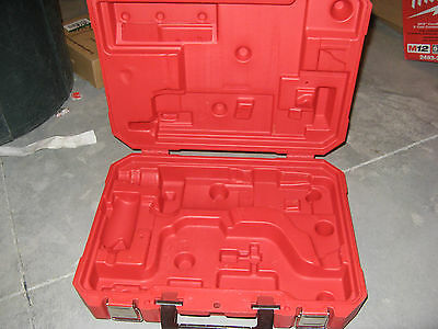 """Plastic Case For Milwaukee 5380-21 Heavy Duty 1/2"""" Hammer Drill (case only)"""