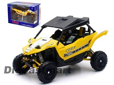 Newray 1:18 57813B Yamaha Yxz 1000R Diecast Atv Buggy 4X4 Model Yellow New