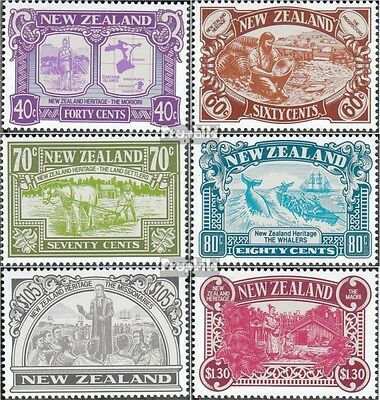 New Zealand 1071-1076 (complete issue) unmounted mint / never hinged 1989 Herita