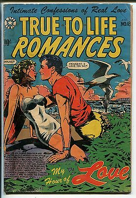 True-to-Life Romances #18 1953-Star-L B Cole-Jay Disbrow-spicy-swimsuit-FR