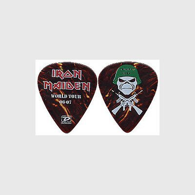 Iron Maiden Janick Gers authentic 2006 tour Guitar Pick