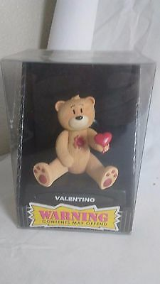 Bad Taste Bears Figurine VALENTINO New Novelty Gag Gift Nasty Adult Fun Offensiv