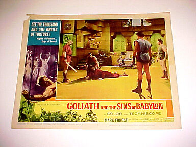 Goliath And The Sins Of Babylon-1963 Fn