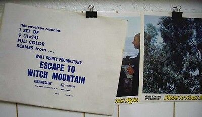 Escape To Witch Mountain-Disney-Lobby Card Set Of 9 Nm