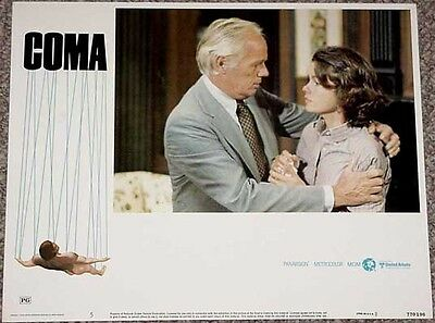 Coma #5 Lobby Card-1977-Suspense-Mystery-Confrontation Vg