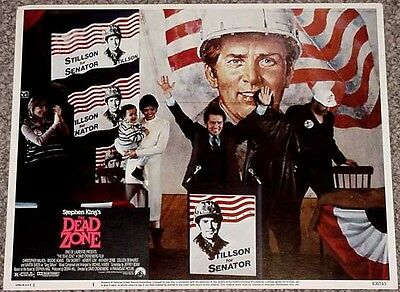 The Dead Zone Lobby Card #1-Stephen King-Election Vg