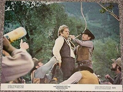 The Duchess And The Dirtwater Fox Lobby Card-1976 Vg