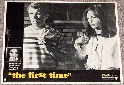 The First Time Lobby Card #5-1969-Teenagers-Romance Vg