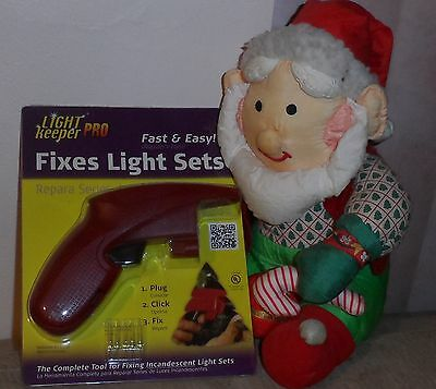 NEW Light Keeper PRO The Complete Tool for Fixing Incandescent Holiday Light Set
