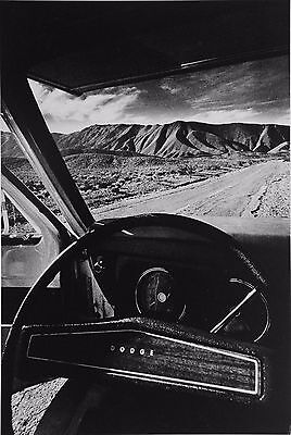 Jeanloup Sieff Photo Heliogravure Vallée de la Mort 1977 Death Valley Dodge B&W