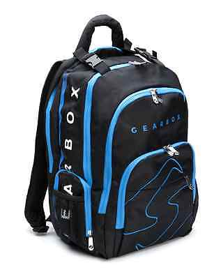 Gearbox Racquetball Bag PRISM Backpack in Black / Blue