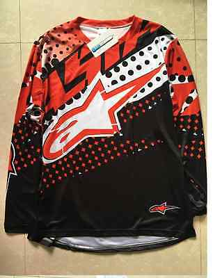 Motocross Jersey Alpinestars Xtreme Sports Off Road Clothing Quick Dry Function
