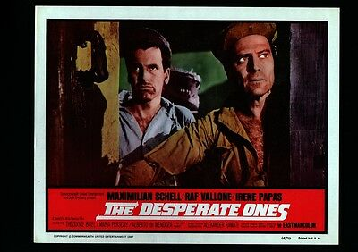 The Desperate Ones-1968-Max Schell-Lobby Card Vf