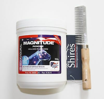 Equine America Magnitude 908g with FREE Mane Comb