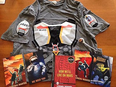 MARS TV Series National Geographic Channel Promo Lot Shirt Book Postcards New!