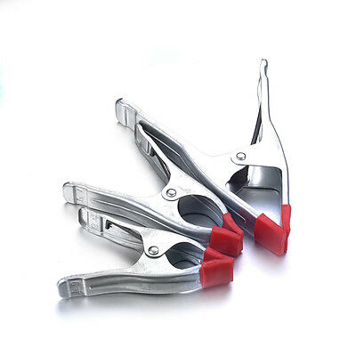 """6"""" 7"""" 9"""" Metal Spring Clamp Grip Clip Hand Working Tool A-shaped 60mm 70mm 90mm"""