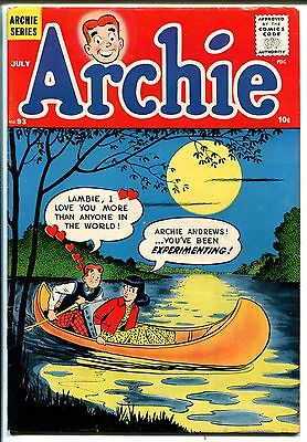 Archie #93 1958-MLJ-Betty-Veronica-tight copy-FN