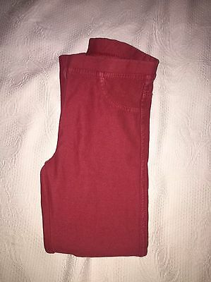 Zara Girls Casual Collection Sz. 5/6 Knit Jean Style Pants. Cute & Comfortable.
