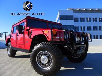 2006 Hummer H1 Alpha Sport Utility 4-Door 2006 Hummer H1 Alpha Open-Top 2nd Generation Duramax Low Miles & Price Serviced