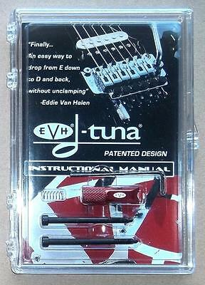 EVH® D-Tuna Drop D Tuning System For Floyd Rose Bridges~Red Limited ED~Brand New