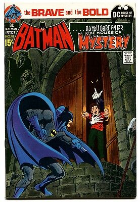 BRAVE AND THE BOLD #93 1971-BATMAN Horror issue! fn+