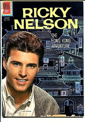 Four Color Comics-Ricky Nelson #1192 1961-Dell-photo cover-Russ Manning art-G/VG