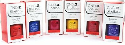 CND Shellac UV Gel Polish  .25 oz / 7.3 ml New Wave Collection Spring 2016 NEW!
