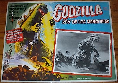"""Godzilla, King of the Monsters"" (1956) + 10 Sequels (86 different Lobby Cards)"