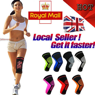 Sport Wrap Knee Support Pads Strap Brace Patella Injury Sleeve Belt Kneepads Gym