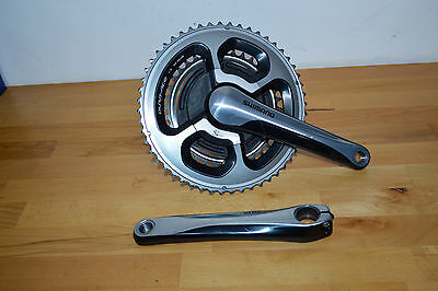 Shimano Dura Ace 9000 SRM Power Meter Chainset 52/36T 175mm crank