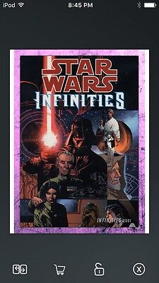 Topps Star Wars Digital Card Trader Pink Evolution: Comics Infinities Insert