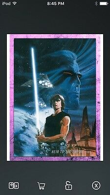 Topps Star Wars Digital Card Trader Pink Evolution: Comics Heir Insert