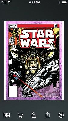 Topps Star Wars Digital Card Trader Pink Evolution: Comics #52 Insert