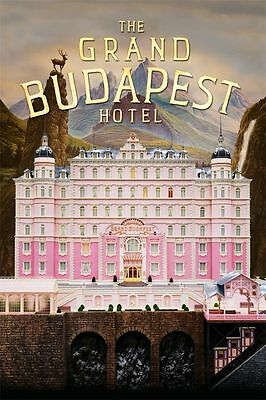 003 classic The Grand Budapest Hotel Movie Art Silk Decor Poster 24x36 Inch