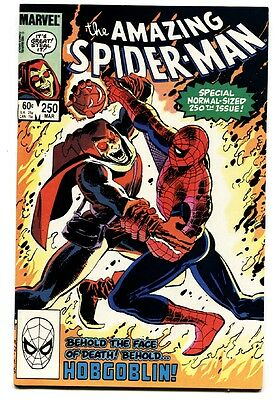 AMAZING SPIDER-MAN #250 comic book 1984 MARVEL Hobgoblin