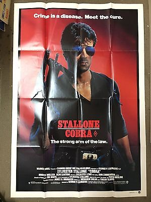 Stallone Cobra, One Sheet Movie Poster