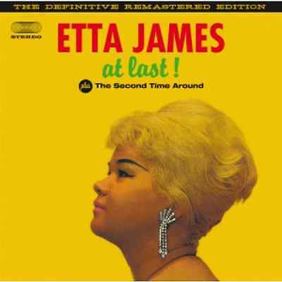 Etta James - At Last / The Second Time Around - Audio Cd