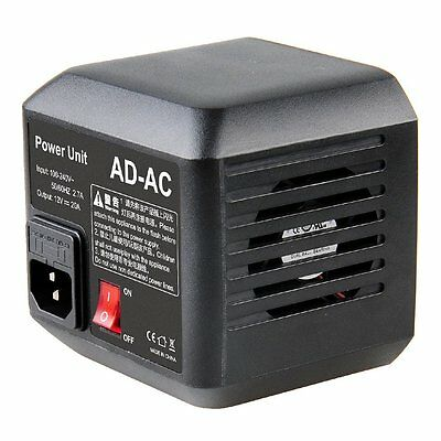 Godox AD-AC Power Source AC Wall Adapter & Cable for AD600B AD600BM AD600M AD600