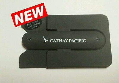 Cathay Pacific Airlines Silicone Cell Phone Pocket & Stand NEW