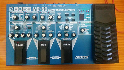 Boss ME-50 Guitar Multi Effects Pedal & Processor - Used, Fully Working