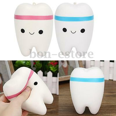 Cutie Creative Smile Bright Tooth Slow Rise Rising Scented Soft Squishy Toy Gift
