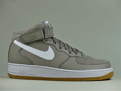 cheap for discount 11225 25a58 NIKE AIR FORCE 1 One Mid 07 Schuhe Herren High Top Leder Sneaker 315123-204