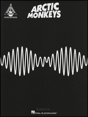 Arctic Monkeys AM Guitar TAB Music Book Guitar Recorded Versions