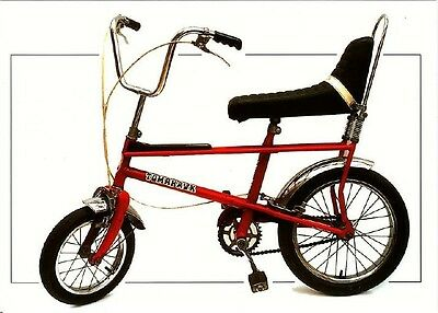 Raleigh Tomahawk Bicycle from 1972 Modern Postcard