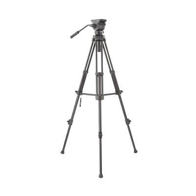 Libec TH-X Head and Tripod System, Bowl and Flat Type Head Design