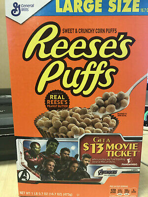 Reeses Puffs American Cereals 368g