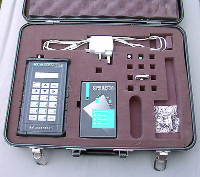 Microtest MT350 LAN network cable scanner analyser + injector kit RJ45 coax CAT5