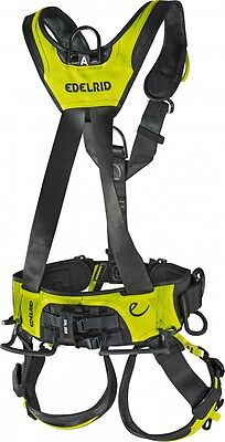 RPR:£300 EDELRID Vertic Triple Lock Harness L-XL - Equal to Petzl