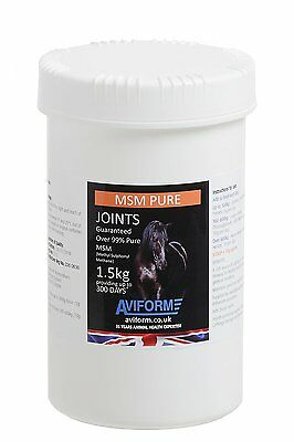 Aviform MSM Pure Joint Care Supplement for Horses 1.5kg